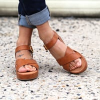 Free Will By BC Footwear {Cognac}