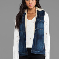 Citizens Of Humanity Laustan Vest in Blue