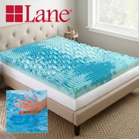 "Lane 4"" Cooling GelLux Memory Foam Gel Mattress Topper, Multiple Sizes - Walmart.com"