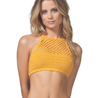 TOPANGA HIGH NECK BIKINI TOP