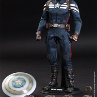 Marvel Captain America - Stealth S.T.R.I.K.E. Suit Sixth Sca