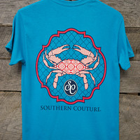 Classic Crab Tee | Southern Couture