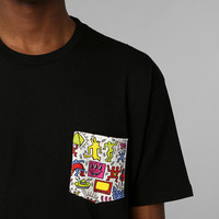 Urban Outfitters - Junk Food Haring Pocket Tee