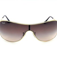 Ray Ban RB3211 001/13 Gold / Brown Gradient 32mm Sunglasses