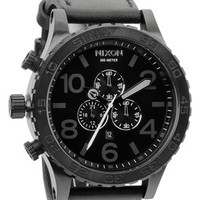 The 51-30 Chrono Leather | Watches | Nixon Watches and Premium Accessories