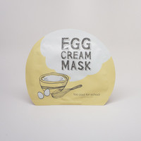 Too Cool For School Egg Cream Mask / Set of 2 - Soko Glam
