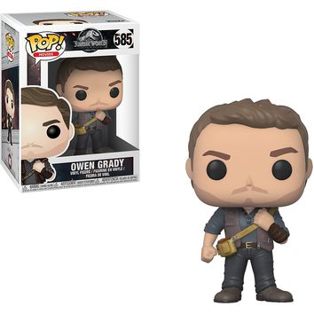 Owen Funko Pop! Movies Jurassic World Fallen Kingdom