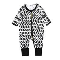 Baby Spring born Girls and Boys Clothes Summer Casual born Jumpsuit Toddler Kids Suits