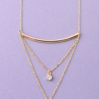 Pop the Bubbly Necklace - GOLD
