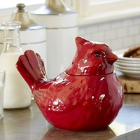 CARDINAL COOKIE JAR