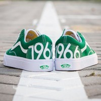 "Vans Classics ""1966"" Canvas Old Skool Flats Sneakers Sport Shoes"