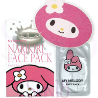 Sanrio Character My Melody Narikiri Face Pack (Milk essence)  *exp.date 05/18*