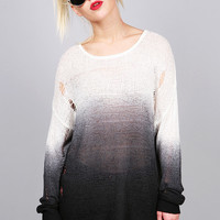 Needle Point Ombre Knit   Tops at Pink Ice