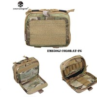Emersongear Tactical  Multi-purpose Goggle and Map pouch and Nylon Pouches Military Army MOLLE Combat Gear