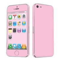 Amazon.com: Apple iPhone 5 Full Body Vinyl Decal Protection Sticker Skin State Pink: Cell Phones & Accessories