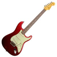 Fender Custom Shop 2014 Anniversary 1964 Stratocaster Relic - Candy Apple Red at Hello Music