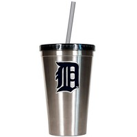 Detroit Tigers Stainless Steel Tumbler (Silver)