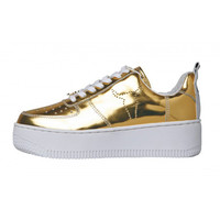 Gold Racer Sneakers