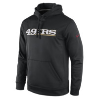 Nike KO Wordmark Essential Pullover (NFL 49ers) Men's Training Hoodie