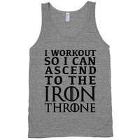 Working Out for The Throne