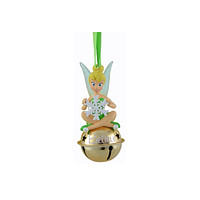 disney parks tinker bell believe on jingle bell holiday ornament new w tags
