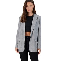 BB Dakota - Grey Making Moves Blazer