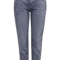 PETITE Busted Hayden Jeans - Mid Stone