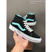 Vans Sk8-Hi Slim cheap mens and womens Fashion Canvas Flats Sneakers Sport Shoes