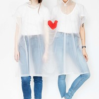 Cuddle Buddy 2-Person Festival Poncho - Urban Outfitters