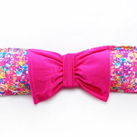 Bow Bandeau Bikini Top Floral Bathing Swim Wear