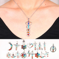 'Balance Your Chakras' Pendant Necklace & Others