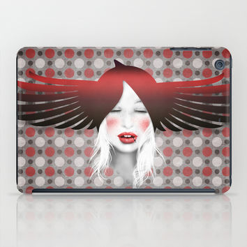 MonGhostX - Close, Fly, dreams... of a free world ! Peace. iPad Case by LilaVert