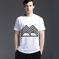 Summer Creative Tee Men's Fashion Stylish Casual Short Sleeve Fashion Cotton Strong Character T-shirts = 6451519043