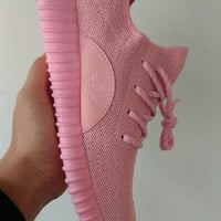 New fashion lightweight running shoes sneakers Pink