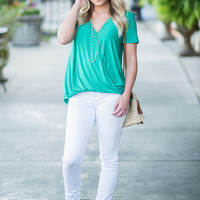 Easy Life Top, Green