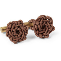 PRODUCT - Alice Made This - Nelson Knotted Cord Cufflinks - 415146 | MR PORTER