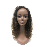 Half Wig 100% Human Hair in French Wave 14""