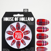 House Of Holland Nails By Elegant Touch - Perfectly Plaid