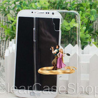 Tangled Rapunzel for iphone 4 case, iphone 5 case, samsung s3 case, samsung s4 case cover in clearcaseshop