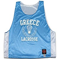 Greece Sublimated Reversible Pinnie