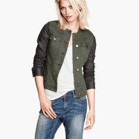 Twill Jacket - from H&M