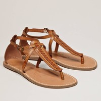 AEO Braided T-Strap Sandal | American Eagle Outfitters