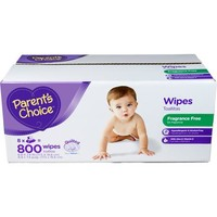 Parent's Choice Unscented Baby Wipes, 800 ct - Walmart.com