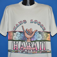 90s Maui Hawaii Shaka Hang Loose t-shirt Extra Large