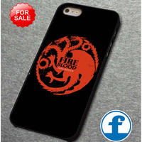 Cool Game of throne targaryen  for iphone, ipod, samsung galaxy, HTC and Nexus PHONE CASE