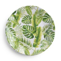 Palm Melamine Salad Plate Set (Set of 4)