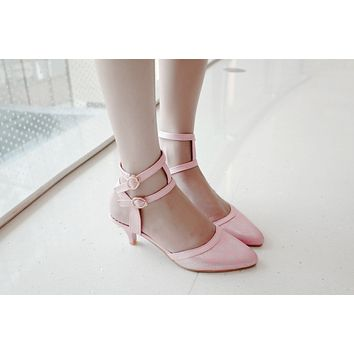 Fashion Pointed Toe Sandals Printed Pumps High Heels Women Dress Shoes 4295