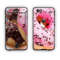 The Sprinkled Donuts Apple iPhone 6 LifeProof Nuud Case Skin Set
