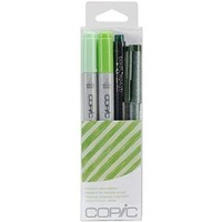 Copic Marker Doodle Pack, Green