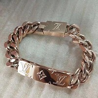 Louis Vuitton LV Woman Fine Jewelry Chain Bracelet